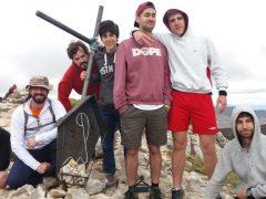 Los chicos de Añisclo conquistan la Peña Gratal