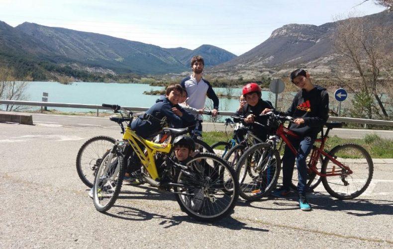 Fotos de la excursión en bici a Arguis
