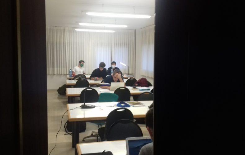 Preparando los exámenes de enero